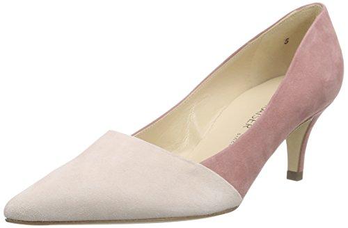 Peter Kaiser Semitara, Chaussures à talons - Avant du pieds couvert femme Rose (POWDER SUEDE ROSE SUEDE 623)