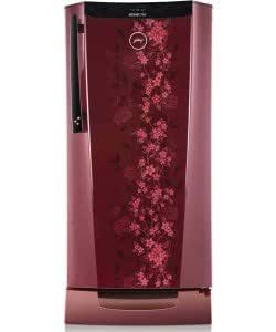 Godrej 241 L 5 Star Direct-Cool Single Door Refrigerator (RHEdgeDigi212PDS5.1(WS), Wine Spring)
