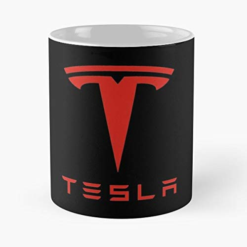 Science Electricity Nikola Tesla Electric Space Musk Energy Elon Geek - Bestes 11 Unze-Keramik-Kaffeetasse Geschenk
