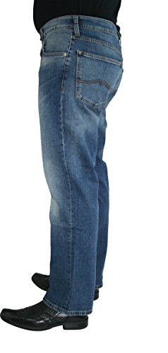 Mustang Herren Straight Jeans Big Sur Blau