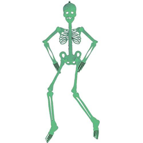 JVSISM 90Cm Halloween Haengen Skelett Kunststoff Furchtbar Party Wand Kunststoff Halloween Dekoration Im Dunkeln Leuchten