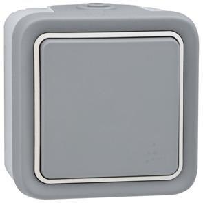 Legrand - 069716 cruzamiento 10a gris plexo ii monob. sup Ref. 6565120025