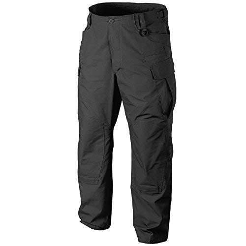 Tasche Mit Klappe Twill-hose (Helikon SFU NEXT Herren Hosen PolyCotton Twill Schwarz size XL Reg)