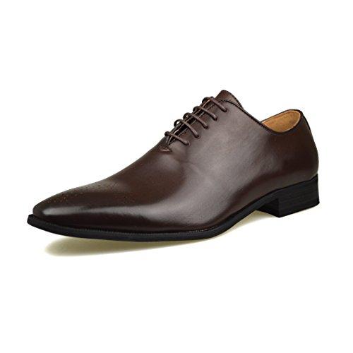 Mode homme New Oxford Chaussures formelles en cuir noir avec Taille UK 6, 7, 8, 9, 10 11 Marron