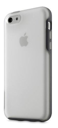 Belkin Grip Candy Sheer Schutzhülle (geeignet für Apple iPhone 5C) klar/blau klar/schwarz