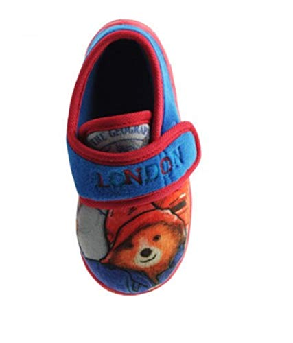 GladRags® Boys Character Slippers Sizes Infant/Junior 5 6 7 8 9 10 11 12 13 1 2 Comfortable House Wear Slip On Mules