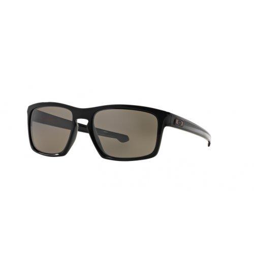 Oakley Herren Sonnenbrille  Sliver,Schwarz (Polished Black/Prizm Daily Polarized), 57