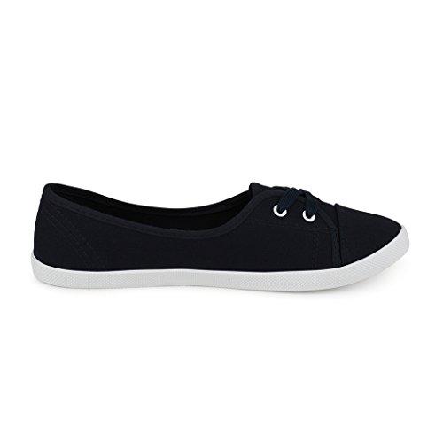 best-boots Ballerine Sneakers Sneaker scarpe da ginnastica Textil Navy
