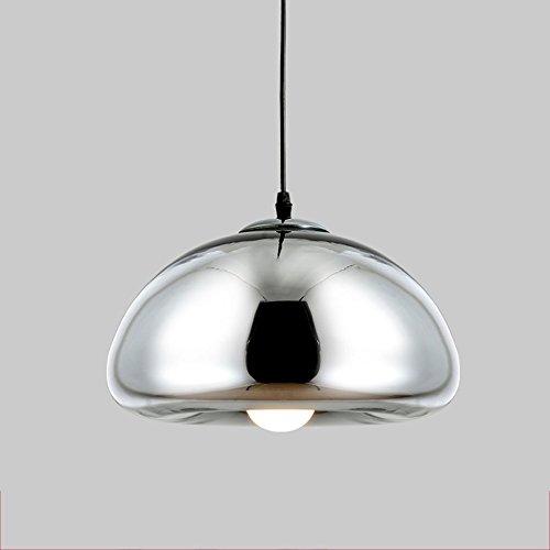 $Beleuchtung Plating Messing Bowl Glas Kronleuchter, Nordic Restaurant Bar Coffee Shop Postmoderne kreative Kronleuchter Innenleuchten ( Farbe : A )