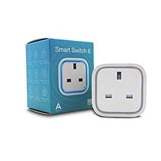 Aeotec Smart Switch 6 with USB Charging Port, Z-Wave Plus Wireless Control Socket Plug for Home Security Automation, 15A Mini Size, Plug G