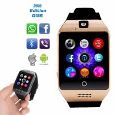 Lava Iris 405+ ( ( ( Compatible ) High quality smart calling watch with all functions of smartphones 2017 Newest Q18 Smart Watch Bluetooth Smartwatch Phone with Camera TF SIM Card Slot by vell-tech ) High quality smart calling watch with all functions of smartphones )