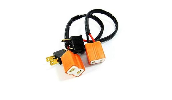 2 X H7 499 Glühbirne Scheinwerfer Drl Tagfahrlicht Nebelscheinwerfer 2 Polig Verlängerung Kabelbaum Keramik Stecker Buchse Adapter Auto