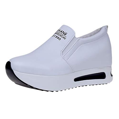 Xinantime Zapatillas De Gimnasia Mujer Moda Casual Sólido Plataforma Gruesa Zapatos CóModo Y Elegante...