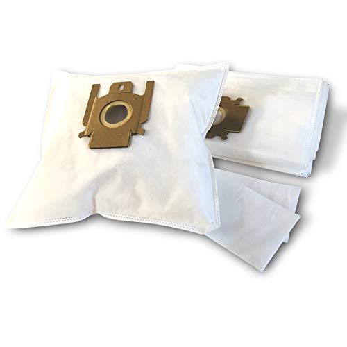 ZZ-Clan 10 Staubsaugerbeutel für Miele S 512, Staubbeutel Filtertüten S512 (+2 Filter - NV617)