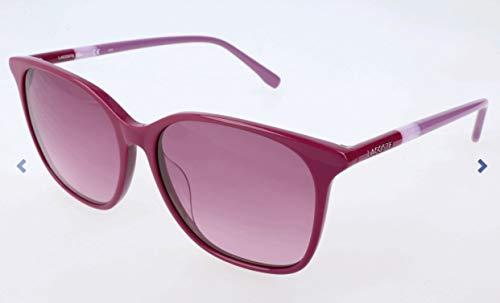 Lacoste Damen L787S Sonnenbrille, Violett, 56 (Sonnenbrillen Lacoste Mann)