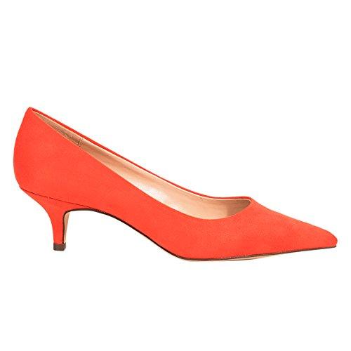 Parfois Chaussures Kitten Classic - Femmes Orange