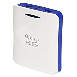 QUANTUM HI-TECH Power Bank For Smart Phones And Tab (Base White Blue)