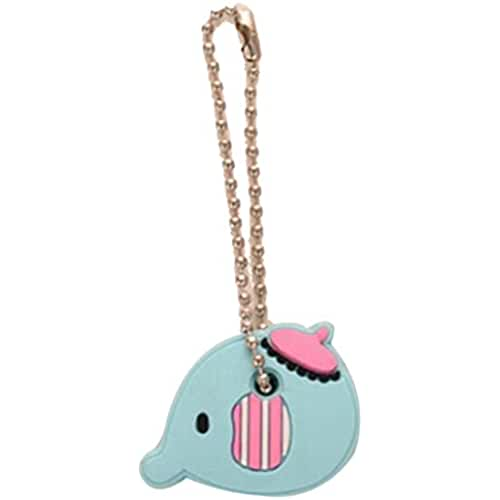 ropa kawaii para los mas guays Estilo de coches kawaii Cartoon Animal PVC Llavero Llaves de tapas carcasa accesorio