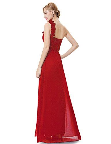 Ever-Pretty - Robe De Soirée - Asymétrique - Sans Manche - Femme Vermilion