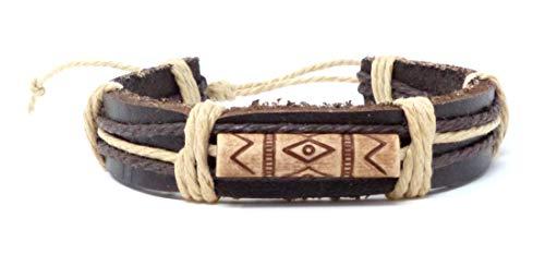 Evil Wear Armband Herren Damen Leder-Armbänder Handmade - Indiana Indiana Leder