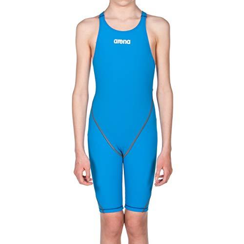 arena Mädchen Badeanzug Wettkampfanzug Powerskin ST 2.0 (Perfekte Kompression, Minimierter Wasserwiderstand), Royal (72), 152
