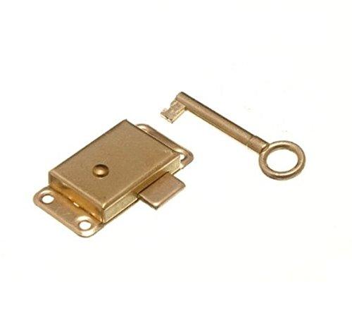 Kleiderschrank Schrank Schloss und Schlüssel, 50 mm, 1 Stück