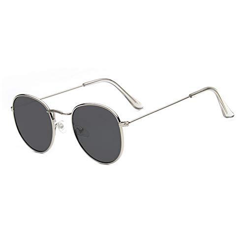 ZHENCHENYZ Runde Sonnenbrille Frauen Vintage Metall billige Sonnenbrille für weibliche hochwertige Brille Retro kleinen Kreis Brillen