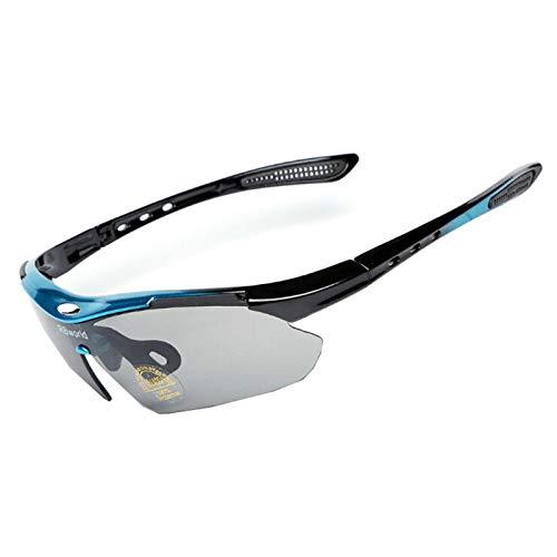 Lafeil Sportsonnenbrille Fahrrad Damen Herren Outdoorbrillen Angeln Windjacke Fahrrad Mountainbike Sonnenbrillen Männer Und Frauen Brille Reiten Blau Grau