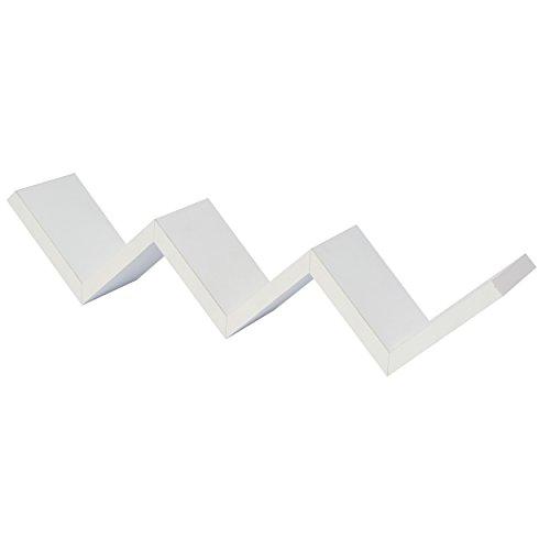 Shelf Zig Zag Dm 60 Cm White Buy Online In Oman Kitchen Amp