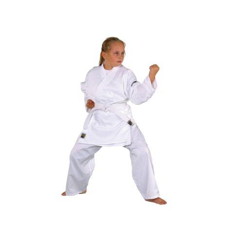 Kwon Kinder Kampfsportanzug Karate Basic, weiß, 130cm, 551000130