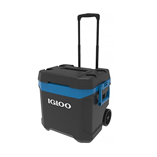 Igloo MaxCold Latitude - Nevera de hielo con ruedas (58 litros, 62...