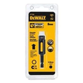 Dewalt DT7440-QZ Llave de vaso hexagonal magnética de impacto de limpieza fácil 10 mm, Plateado