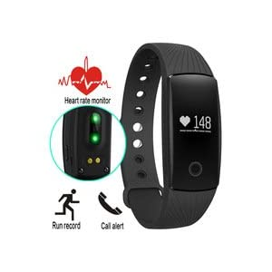 31vwQx93KCL. SS300  - Fitness Tracker HR, Unchained Warrior Unisex Performance Activity Tracker Watch and Heart Rate Monitor, Black, One Size