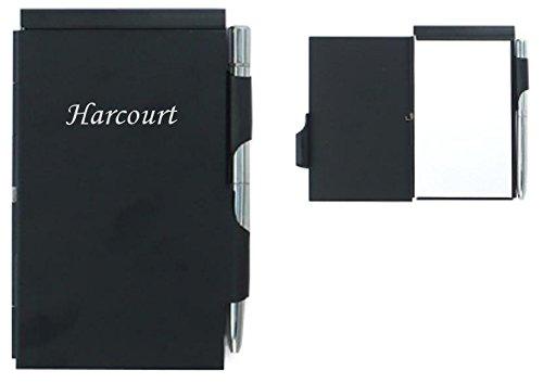cuaderno-de-notas-con-un-boligrafo-nombre-grabado-harcourt-nombre-de-pila-apellido-apodo