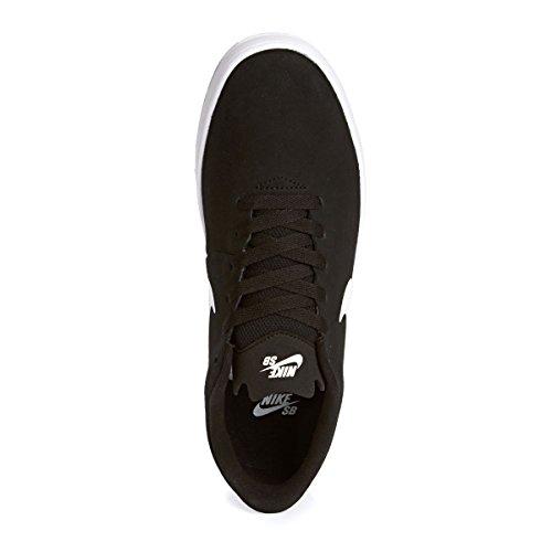 Nike Takedo SB, Scarpe da Skateboard Uomo, Nero Bianco, M Nero/bianco-grigio (Black/White-Wolf Grey)