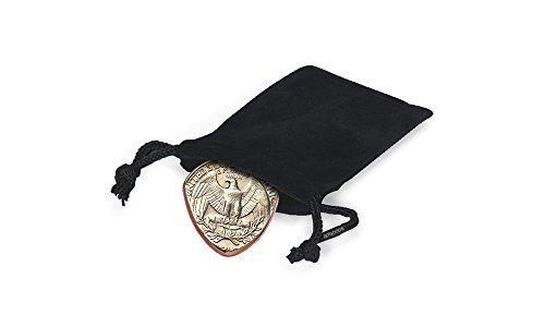 Quarter Gitarre Plektrum in Amerika handgefertigt aus echten USA Medaille Eltern Pick & Gift Bag