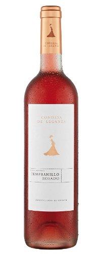6x 0,75l - 2015er - Condesa de Leganza - Tempranillo Rosado - Vino de la Tierra de Castilla - Spanien - Rosé-Wein trocken