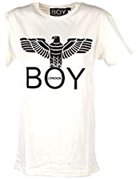7c8e43994cff BOY London T Shirt Manica Corta Donna Grigio Melange