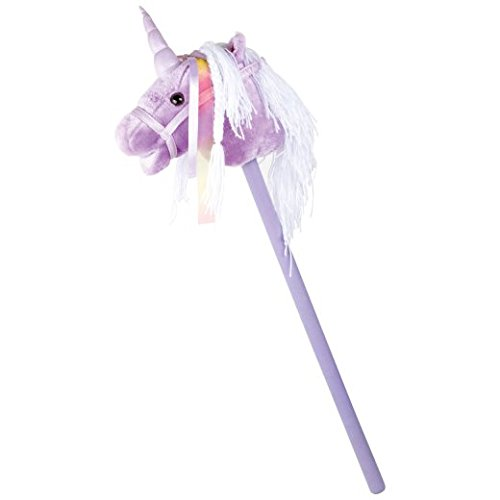 SMALL FOOT Steckenpferd Einhorn lila OneSize