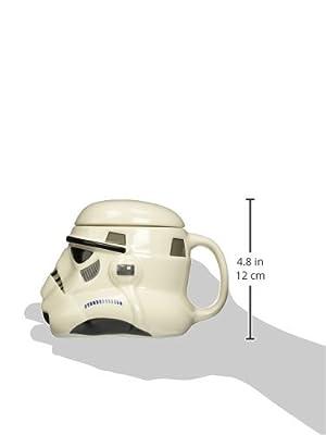Mug Star Wars Stormtrooper 3D en céramique avec couvercle