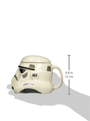 Star Wars 21296 - Storm Trooper 3D-Keramiktasse, 12 x 14 x 15 cm