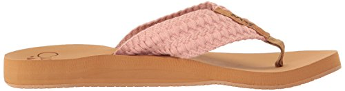 Reef Flipflop Woman Cusihion Threads Black pink