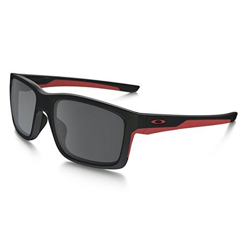 Oakley Sonnenbrille Mainlink, OO9264-12, Schwarz (Matte Black/ Black Irridium)