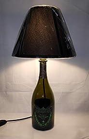 Lampada Bottiglia vuota Dom Perignon Luminous idea regalo riciclo creativo riuso arredo design