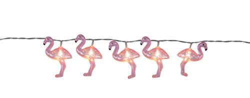 Lichterkette /LED Lichterkette Flamingo / Sommer