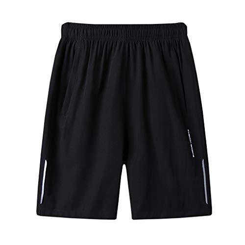 Herren Sommer Beachshorts Strandhose plus Größe Slim Schnell Trocknende Badehose Lässige Sport kurze Hosen Zolimx