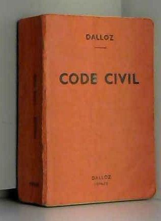 Code civil - Petite collection Dalloz