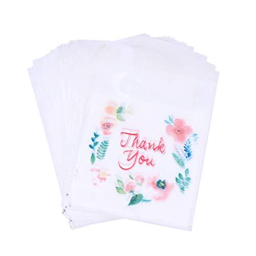 BESTONZON 100 Stück selbstklebende Taschen/Verpackungsbeutel, geeignet für Süßigkeiten/Cookie