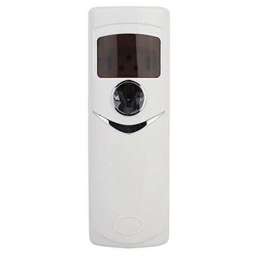 Dispensador de Aromas, Bomba eléctrica automática sin Aerosol LCD Aroma sobremesa o montada en la Pared Dispensador de Aire más Fresco Máquina de esparcidor de Aceite Esencial