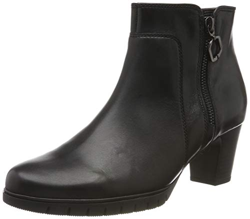 Gabor Shoes Damen Comfort Basic Stiefeletten, Schwarz (Schwarz (Micro) 57), 39 EU